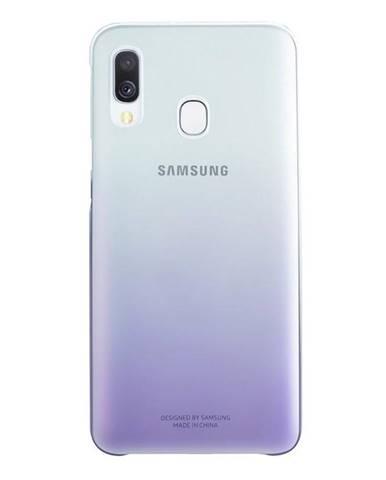 Kryt na mobil Samsung Gradation Cover na Galaxy A40 fialový