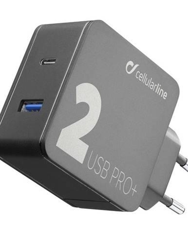 Nabíjačka do siete CellularLine Multipower 2 PRO+, Smartphone