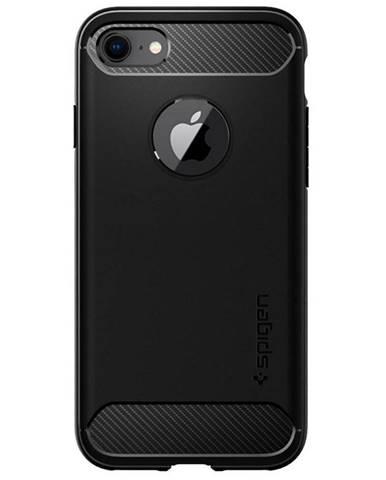Kryt na mobil Spigen Rugged Armor na Apple iPhone 7 čierny