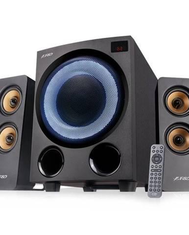 Reproduktory Fenda F&D F770X, 2.1, 76W, RGB, BT5.0, FM rádio, USB,