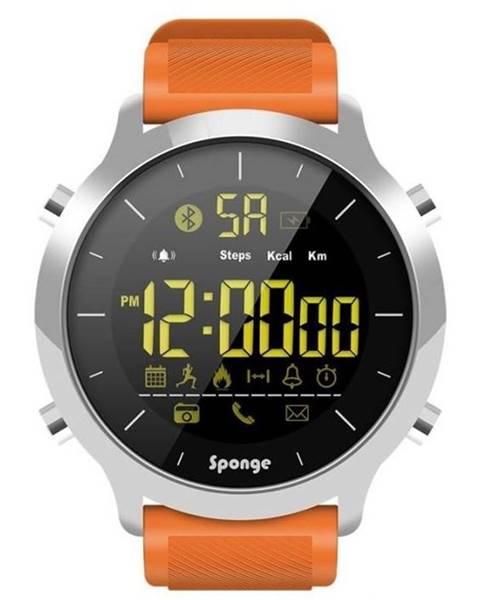 Sponge Inteligentné hodinky Sponge Smartwatch Surfwatch oranžový