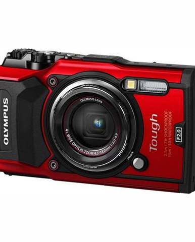 Digitálny fotoaparát Olympus TG-5 červený