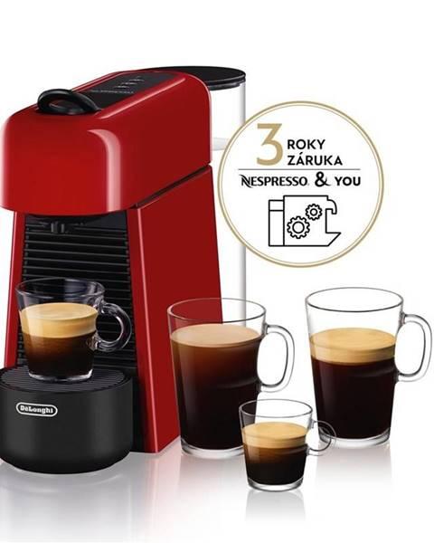 DeLonghi Espresso DeLonghi Nespresso Essenza Plus EN200.R červen