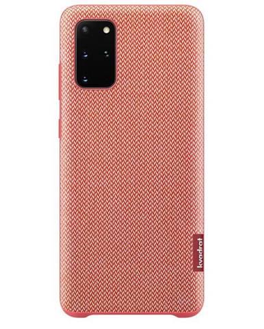 Kryt na mobil Samsung Kvadrat na Galaxy S20+ červený