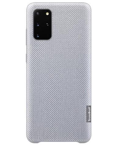 Kryt na mobil Samsung Kvadrat na Galaxy S20+ sivý