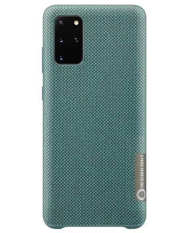Kryt na mobil Samsung Kvadrat na Galaxy S20+ zelený