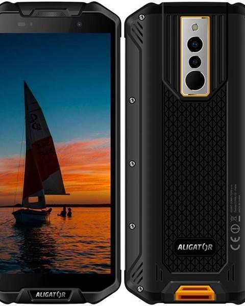 Aligator Mobilný telefón Aligator RX710 čierny/žltý