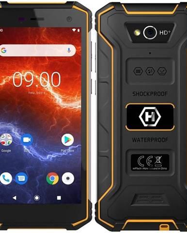 Mobilný telefón myPhone Hammer Energy 2 čierny/oranžový