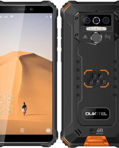 Mobilný telefón Oukitel WP5 čierny/oranžový