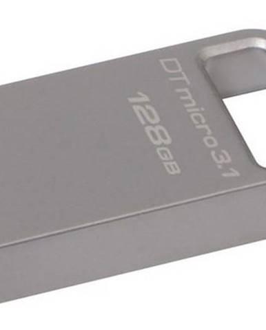 USB flash disk Kingston DataTraveler Micro 3.1 128GB kovový
