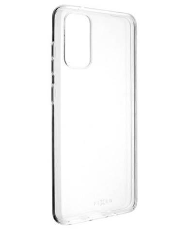 Kryt na mobil Fixed Skin na Samsung Galaxy S20 priehľadný