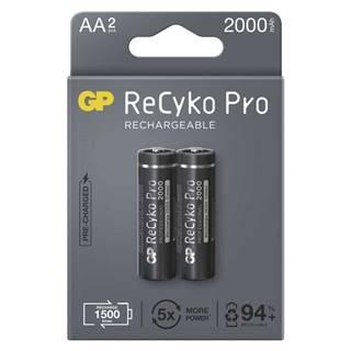 Batéria nabíjacie GP ReCyko Pro, HR06, AA, 2000mAh, NiMH, krabička