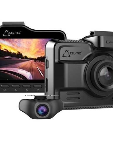 Autokamera CEL-TEC K4 Dual GPS siv