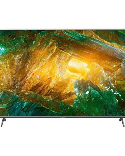 Sony Televízor Sony KD-65XH8077 strieborn
