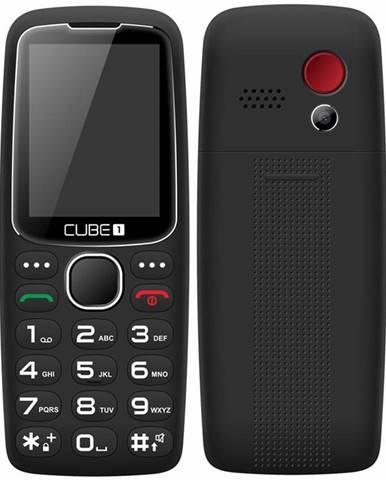 Mobilný telefón Cube 1 S300 Senior čierny