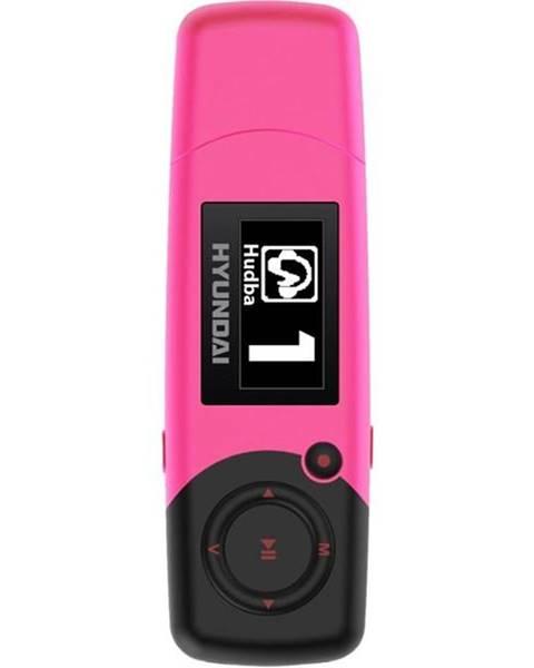 Hyundai MP3 prehrávač Hyundai MP 366 GB4 FM P ružov