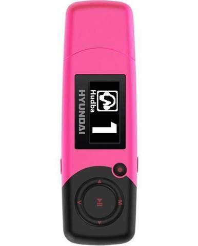 MP3 prehrávač Hyundai MP 366 GB4 FM P ružov