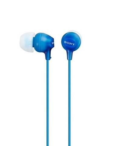 Slúchadlá Sony Mdrex15lpli.AE modrá