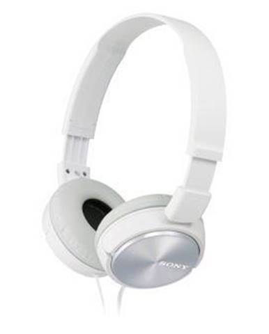 Slúchadlá Sony Mdrzx310w.AE biela