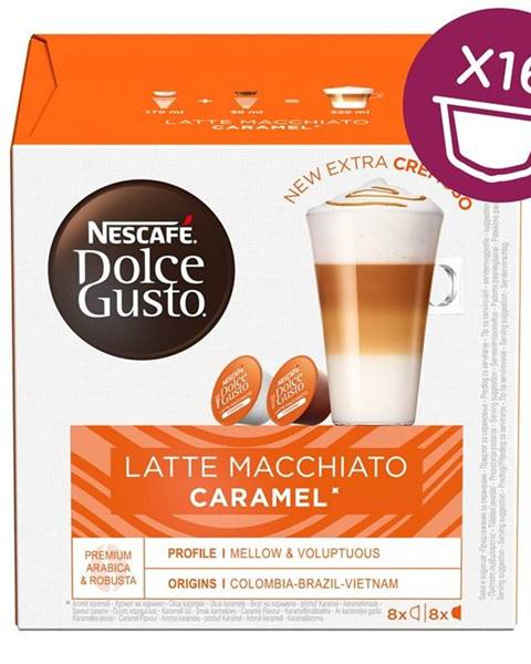Nescafé NescafÉ Dolce Gusto® Latte Macchiato Caramel kávové kapsle 16 ks