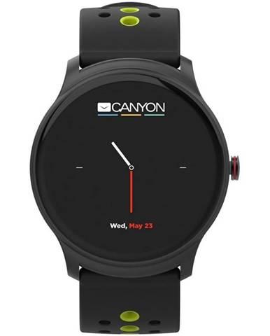 Inteligentné hodinky Canyon Oregano čierny/zelený