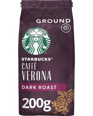 Káva mletá Starbucks Dark Caffe Verona 200g