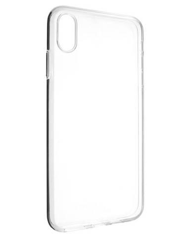 Kryt na mobil Fixed Skin na Apple iPhone Xs Max priehľadný