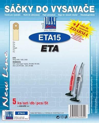 Sáčky pre vysávače Jolly ETA 15