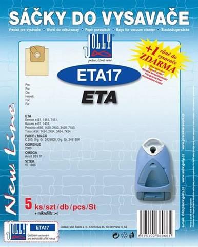 Sáčky pre vysávače Jolly ETA 17