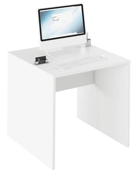 Tempo Kondela Písací stôl biela RIOMA TYP 17