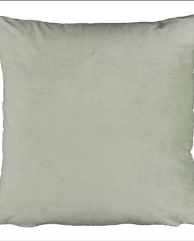 Vankúš zamatová látka svetlozelená 60x60 OLAJA TYP 14
