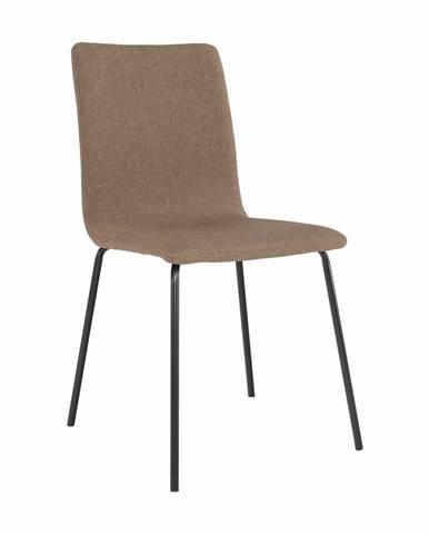 Jedálenská stolička hnedá/čierna RENITA precenený tovar