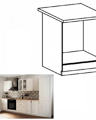 Dolná skrinka na vstavané spotrebiče D60ZK biela/sosna Andersen SICILIA