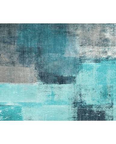 Koberec modrá/sivá 120x180 ESMARINA TYP 2