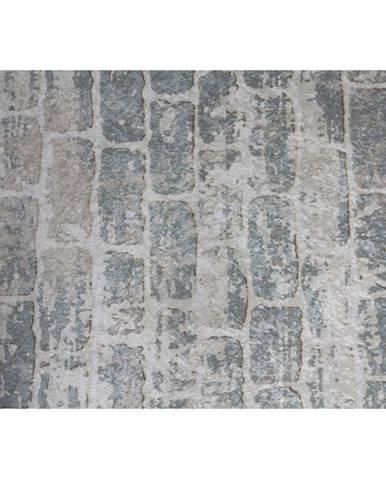 Koberec sivá/vzor tehla 120x180 MURO