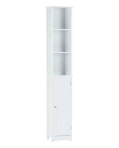 Vysoká skrinka biela ATENE TYP 1