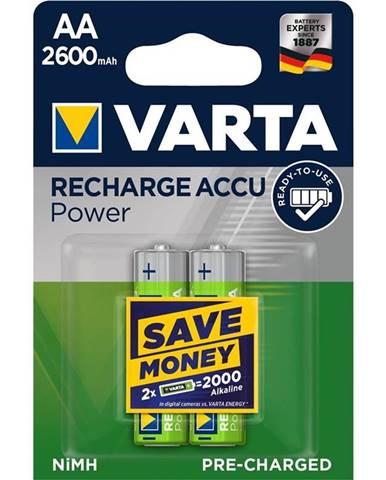 Batéria nabíjacie Varta Rechargeable Accu AA, HR06, 2600mAh, Ni-MH,