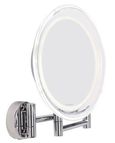 Zrkadlo kozmetické Lanaform LA131007 Wall Mirror strieborn