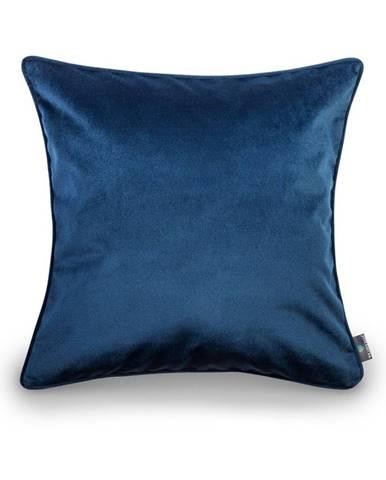 Modrá obliečka na vankúš WeLoveBeds Royal, 50×50cm