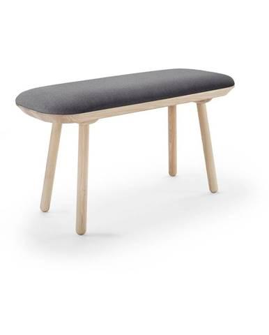 Sivá lavica EMKO Naïve, 100 cm