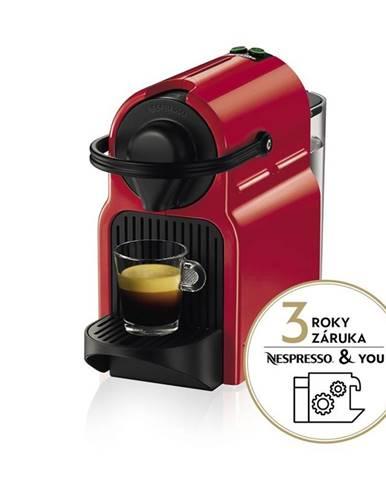 Espresso Krups Nespresso Inissia XN1005 červen