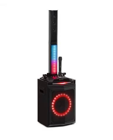 "Auna Clubmaster Tube, párty zvukový systém, 150 W max., 10"" woofer, USB, BT, AUX, čierny"