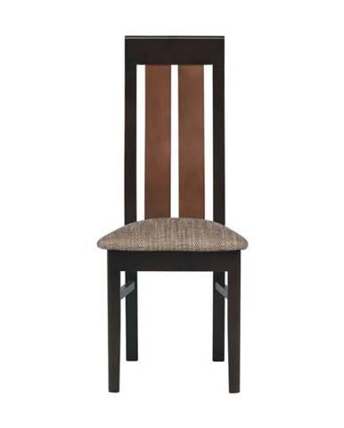 Jedálenská stolička NONA orech/wenge