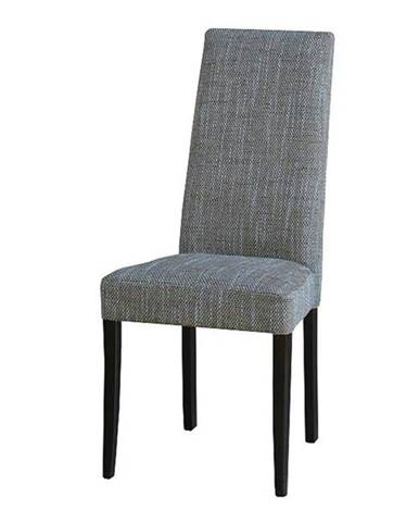 Jedálenská stolička CAPRICE buk kolonial/sivá