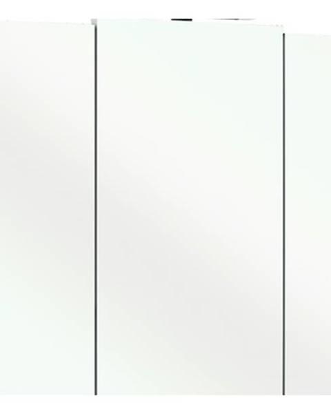 Sconto Zrkadlová skrinka LIVORNO II biela/sklo
