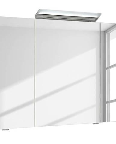 Zrkadlová skrinka s osvetlením FILO ORIA III biela