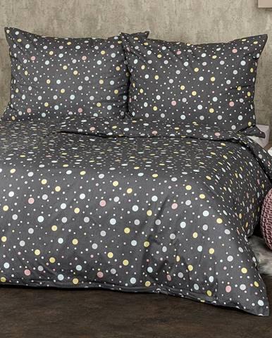 4Home Bavlnené obliečky Bodky pastel, 140 x 200 cm, 70 x 90 cm